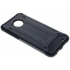 Schwarzes Rugged Xtreme Case für das Motorola Moto G6 Plus