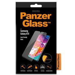 PanzerGlass Case Friendly Displayschutzfolie für das Schwarz Galaxy A70