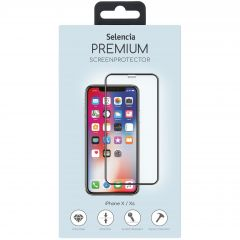 Selencia Premium Screen Protector  Glas iPhone Xs / X