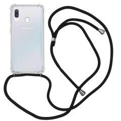 iMoshion Backcover mit Band Schwarz für das Samsung Galaxy A40