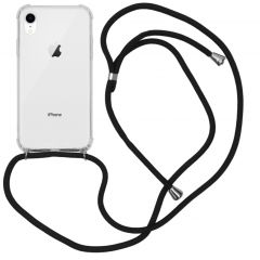 iMoshion Backcover mit Band Schwarz für das iPhone Xr