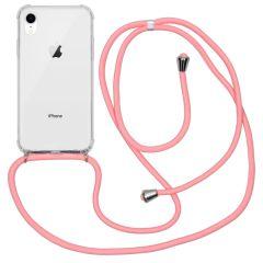 iMoshion Backcover mit Band Rosa für das iPhone Xr