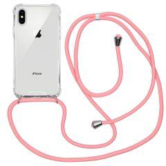 iMoshion Backcover mit Band Rosa für das iPhone Xs / X