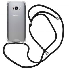 iMoshion Backcover mit Band Schwarz für das Samsung Galaxy S8