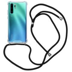 iMoshion Backcover mit Band Schwarz für das Huawei P30 Pro