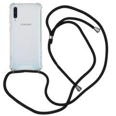 iMoshion Backcover mit Band Schwarz für das Samsung Galaxy A50 / A30s