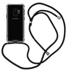 iMoshion Backcover mit Band Schwarz für das Samsung Galaxy S9
