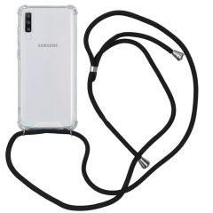 iMoshion Backcover mit Band Schwarz für das Samsung Galaxy A70