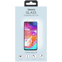 Selencia Displayschutz aus gehärtetem Glas Samsung Galaxy A70