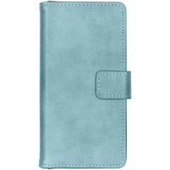 iMoshion Luxus Booktype Hellblau Hülle für das Samsung Galaxy A40