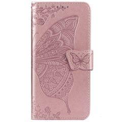 Schmetterling Softcase Klapphülle Huawei Nova 5t / Honor 20
