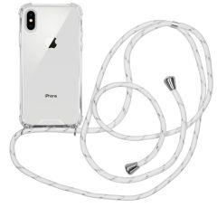 iMoshion Backcover mit Band Weiß Silber für das iPhone Xs / X