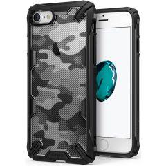 Ringke Fusion X Design Backcover Schwarz iPhone SE (2020) / 8 / 7