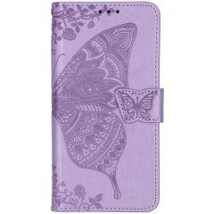 Schmetterling Softcase Klapphülle Lila Xiaomi Mi 9T (Pro)