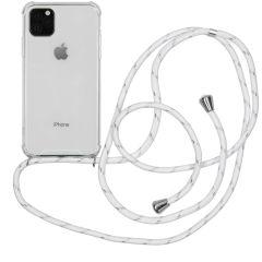 iMoshion Backcover mit Band Weiß Silber für das iPhone 11 Pro Max