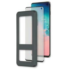 Accezz Glass Screenprotector + Applicator Samsung Galaxy S10