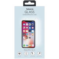 Selencia Displayschutz aus gehärtetem Glas für iPhone 11 Pro / Xs / X