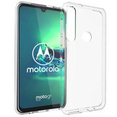 Accezz TPU Clear Cover Transparent für das Motorola Moto G8 Plus