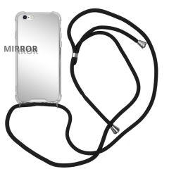 iMoshion Mirror Backcover mit Band Silber für das iPhone 6 / 6s
