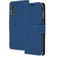 Accezz Wallet TPU Booklet Blau für das Samsung Galaxy A50 / A30s