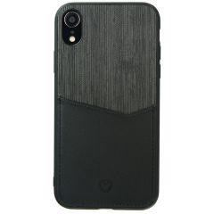 Valenta Card Slot Backcover Schwarz für das iPhone Xr