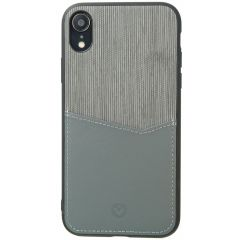 Valenta Card Slot Backcover Grau für das iPhone Xr