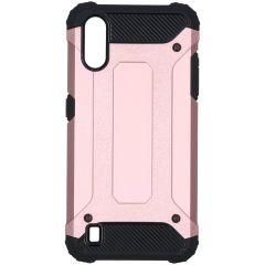iMoshion Rugged Xtreme Case Roségold für das Samsung Galaxy A01