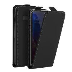 Accezz Flip Case Schwarz für das Samsung Galaxy S10e