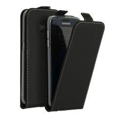 Accezz Schwarzer Flip Case für das Samsung Galaxy S7