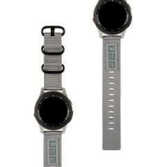 UAG Nato Strap Band Grau für die Galaxy Watch 42 mm