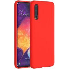 Accezz Liquid Silikoncase Rot für das Samsung Galaxy A50 / A30s