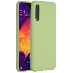 Accezz Liquid Silikoncase Grün für das Samsung Galaxy A50 / A30s