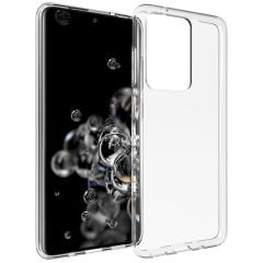 Accezz TPU Clear Cover Transparent für das Samsung Galaxy S20 Ultra