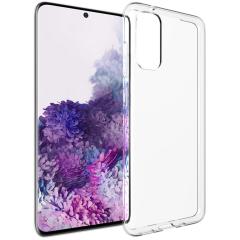 Accezz TPU Clear Cover Transparent für das Samsung Galaxy S20