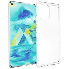 Accezz TPU Clear Cover Transparent für das Samsung Galaxy S10 Lite