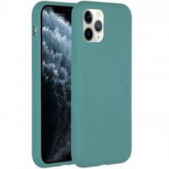 Accezz Liquid Silikoncase Dunkelgrün für das iPhone 11 Pro