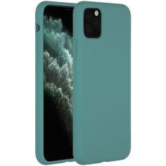 Accezz Liquid Silikoncase Dunkelgrün für das iPhone 11 Pro Max