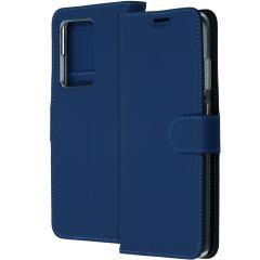 Accezz Wallet TPU Booklet Blau für das Samsung Galaxy S20 Ultra
