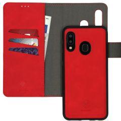 iMoshion Entfernbare 2-1 Luxus Booktype Hülle Rot Galaxy A20e