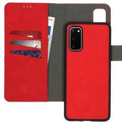iMoshion Entfernbare 2-1 Luxus Booktype Rot Hülle Samsung Galaxy S20