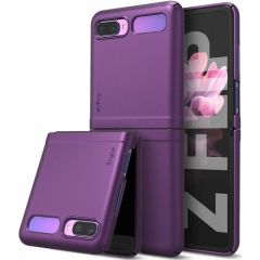 Ringke Slim Back Cover Lila für das Samsung Galaxy Z Flip