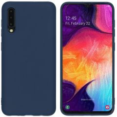 iMoshion Color TPU Hülle Dunkelblau für Samsung Galaxy A50 / A30s
