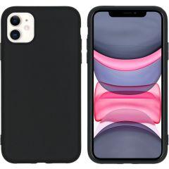 iMoshion Color TPU Hülle Schwarz für das iPhone 11
