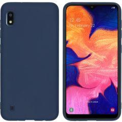 iMoshion Color TPU Hülle Dunkelblau für Samsung Galaxy A10
