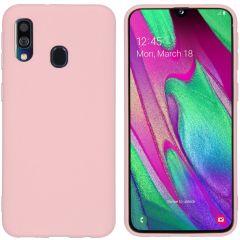 iMoshion Color TPU Hülle Rosa für Samsung Galaxy A40