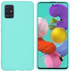 iMoshion Color TPU Hülle Mintgrün für Samsung Galaxy A51