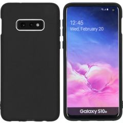 iMoshion Color TPU Hülle Schwarz für Samsung Galaxy S10e