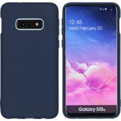 iMoshion Color TPU Hülle Dunkelblau für Samsung Galaxy S10e