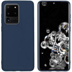 iMoshion Color TPU Hülle Dunkelblau für das Samsung Galaxy S20 Ultra