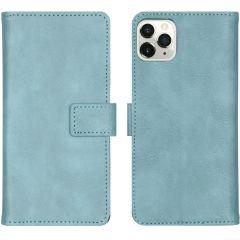 iMoshion Luxus Booktype Hülle Hellblau für das iPhone 11 Pro Max